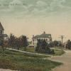 Good Will Farm road, in a 1908 postcard.